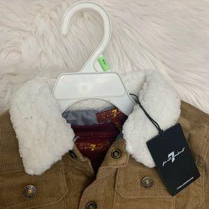 Boy jacket tee and jean set